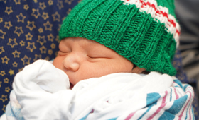 WMCHealth Welcomes New Year's Day Babies