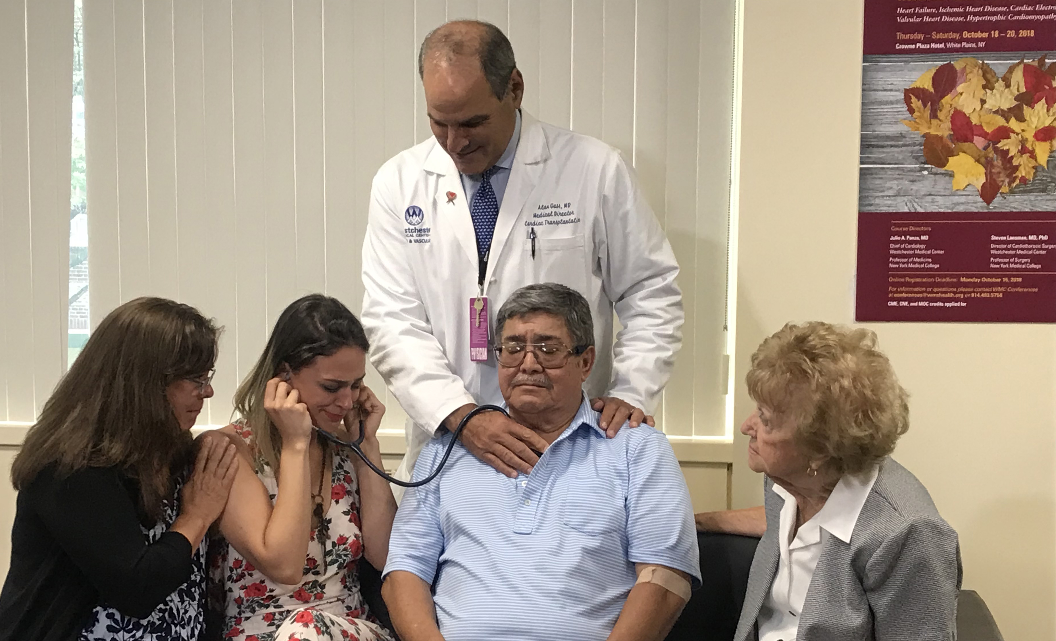 Family Hears Loved One's Heart Beat Again