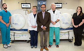 Westchester Medical Center's Hyperbaric Oxygen Therapy
